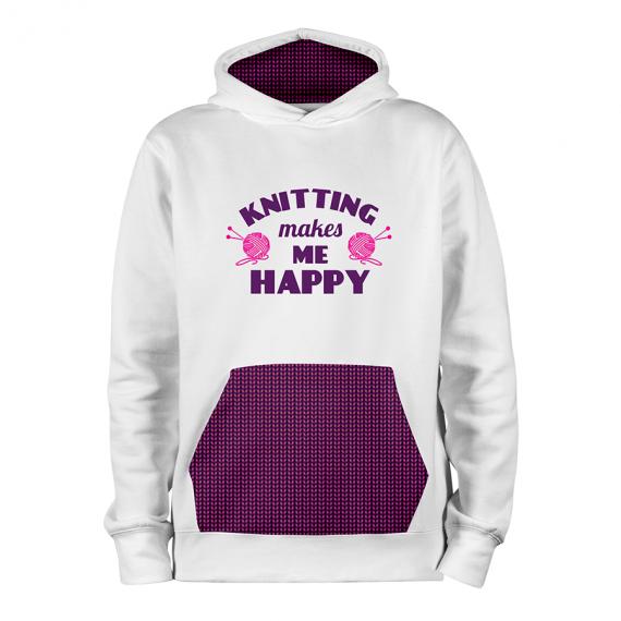 Knitting Happy_BLANC-MAUVE_hoodies_Devant