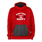 Knitting Happy_ROUGE-NOIR_hoodies_Devant