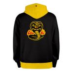 Cobra Kai-JAUNE_hoodies_Dos