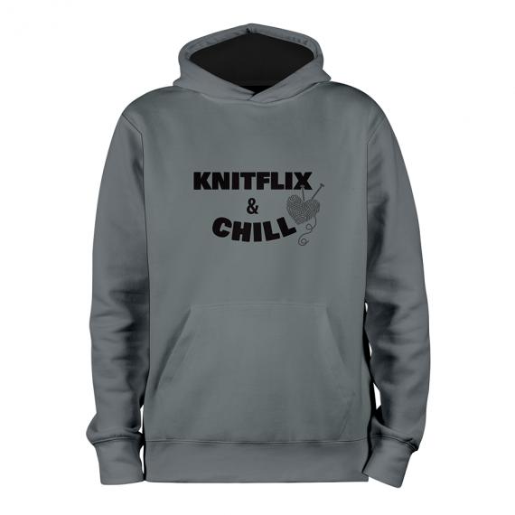 Knitflix_GRIS_hoodies_Devant