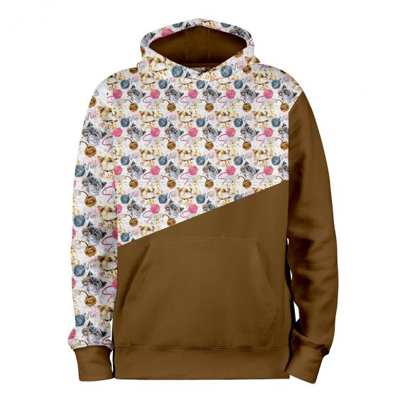 Petits Chats_OCRE_hoodies_Devant