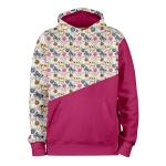 Petits Chats_ROSE_hoodies_Devant