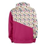 Petits Chats_ROSE_hoodies_Dos